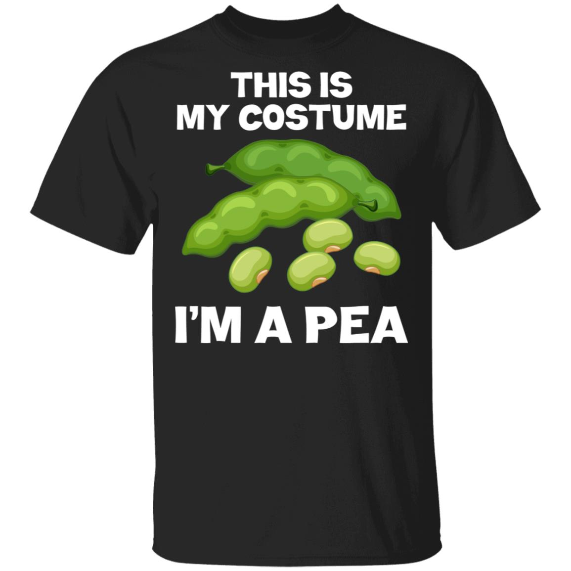 I'm A Pea This Is My Costume Unisex Short Sleeve