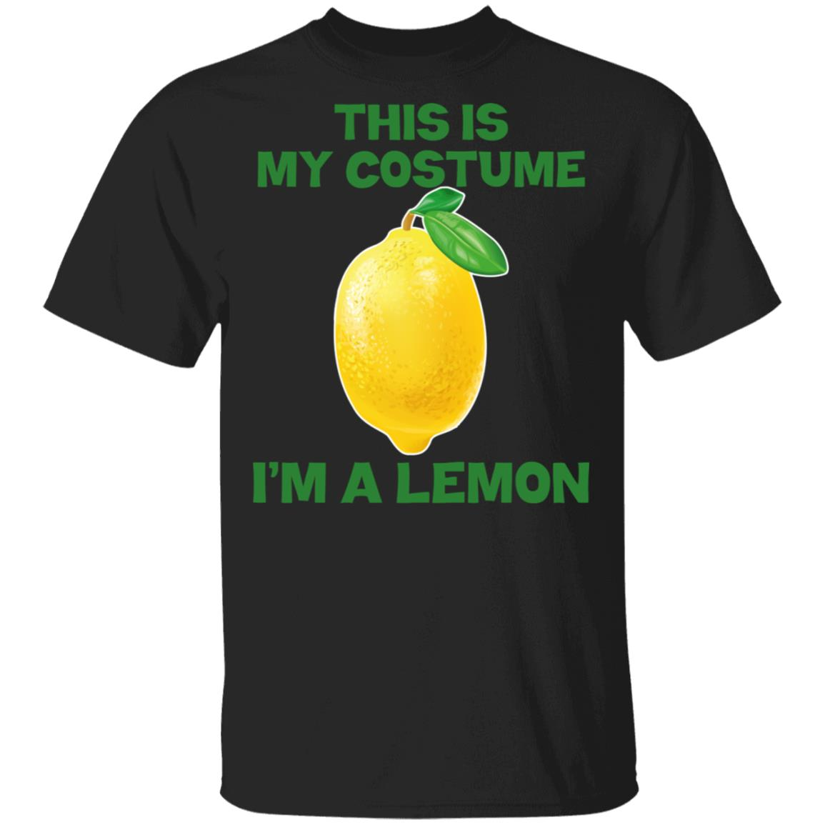 I'm A Lemon This Is My Costume Unisex Short Sleeve