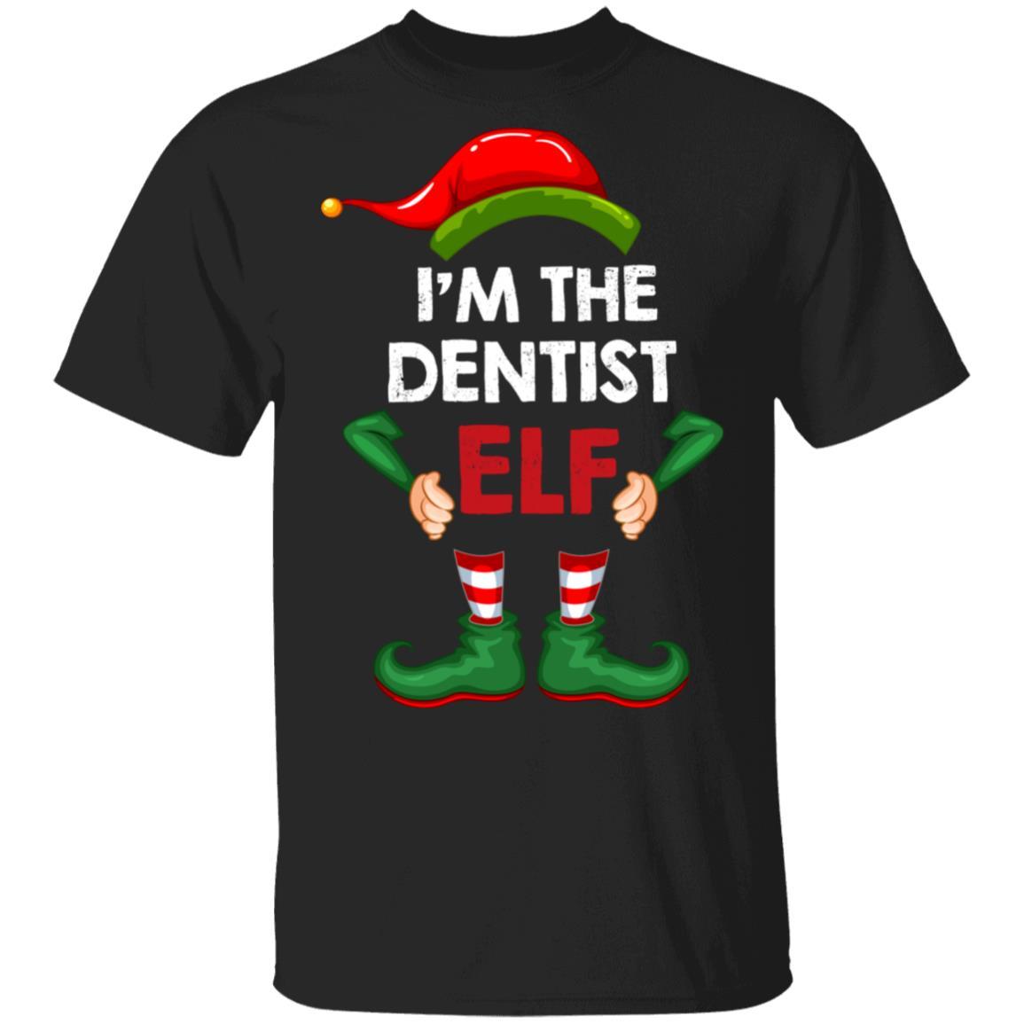 I'm The Dentist Elf Unisex Short Sleeve