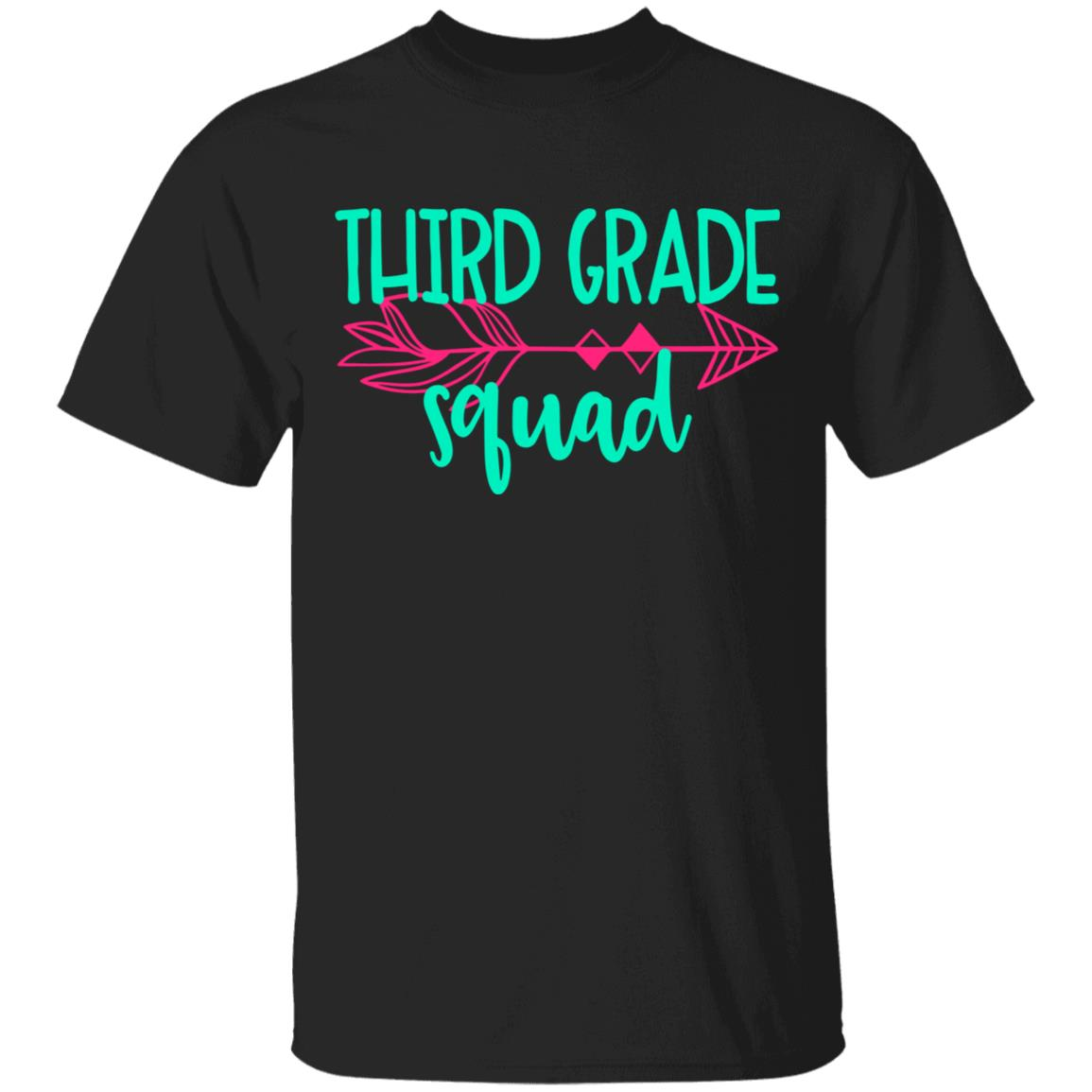 Third 3rd Grade Squad (TeamGroup) Tee Teacher Unisex Short Sleeve