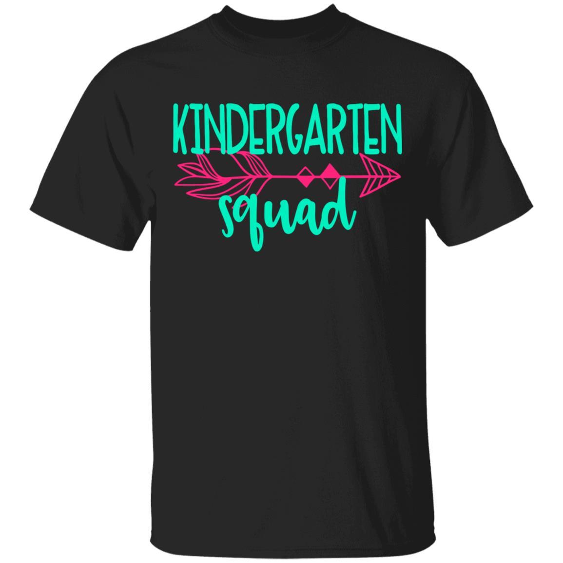 Kindergarten Squad (TeamGroup) Tee Teacher Unisex Short Sleeve