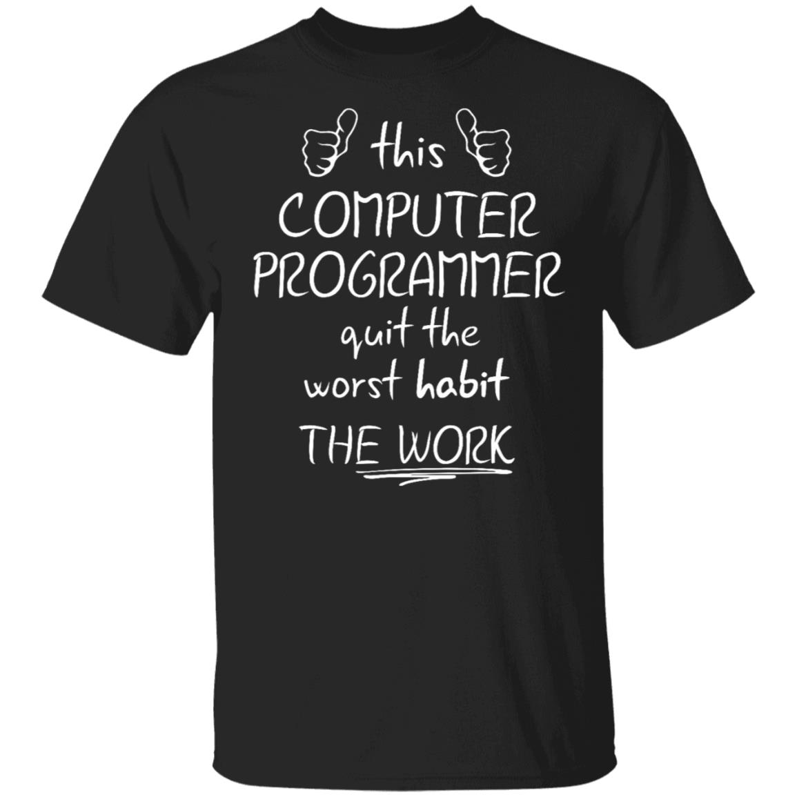Computer Programmer Retirement Unisex Short Sleeve