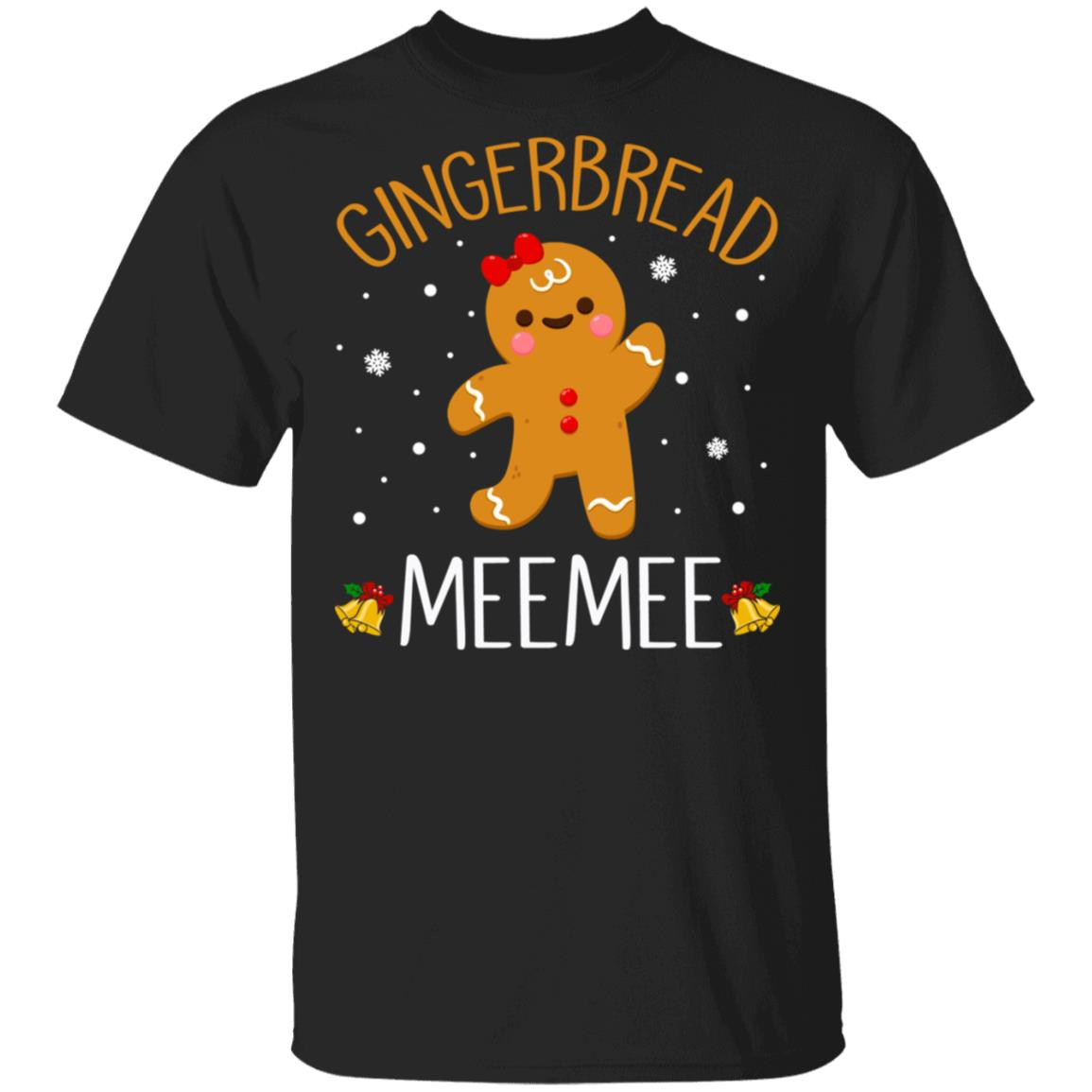Xmas Gingerbread Men MeeMee Christmas Family Unisex Short Sleeve