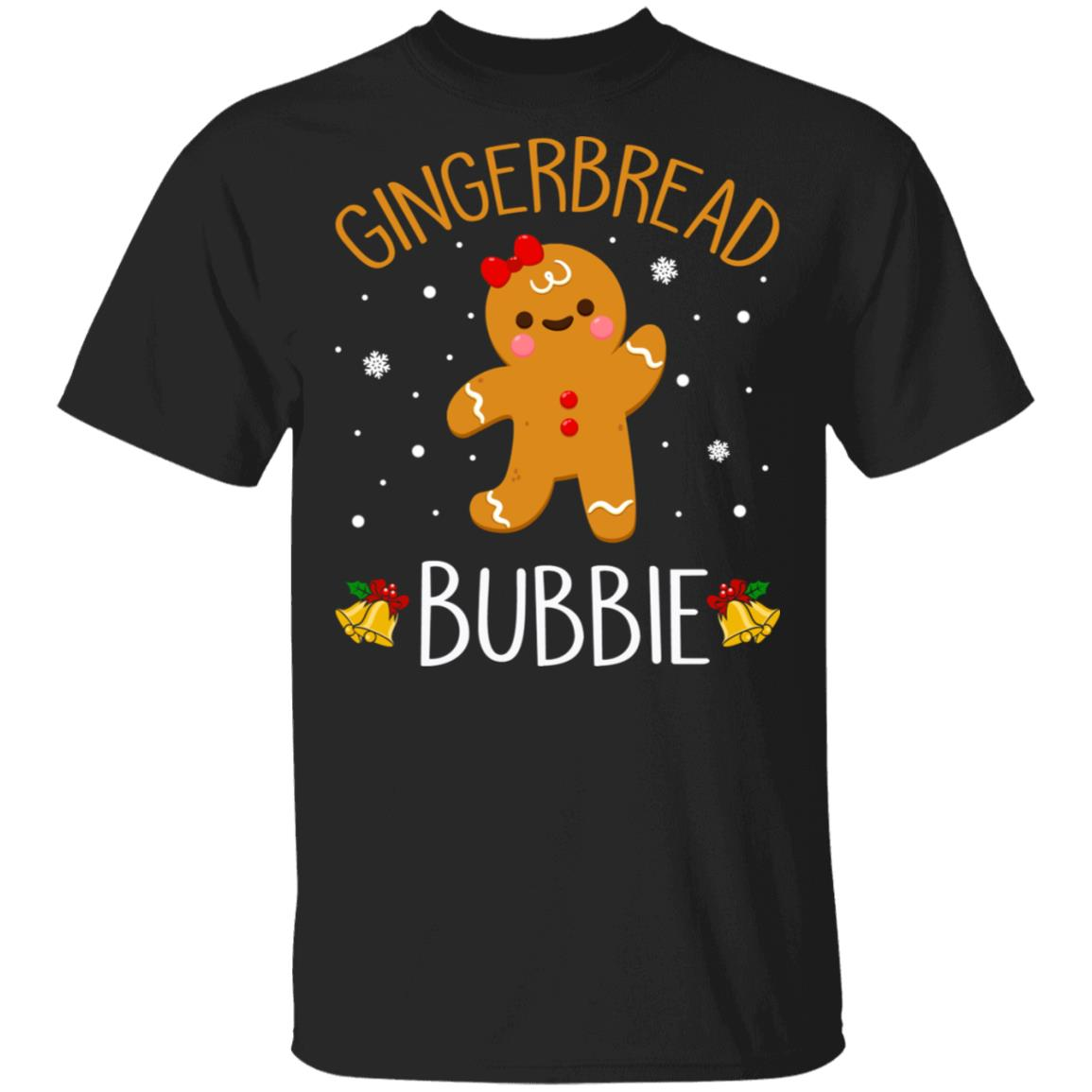 Xmas Gingerbread Men Bubbie Christmas Family Unisex Short Sleeve
